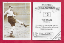 England Ted Drake Arsenal 12